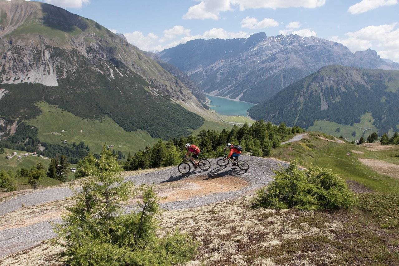 Percorsi per mountain bike a Livigno