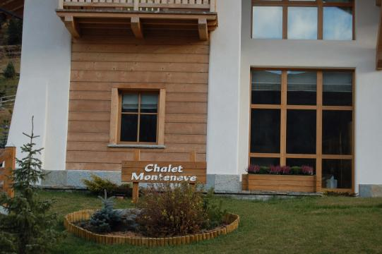 Entrance Chalet Monteneve in Livigno