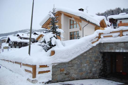Winter at Chalet Monteneve